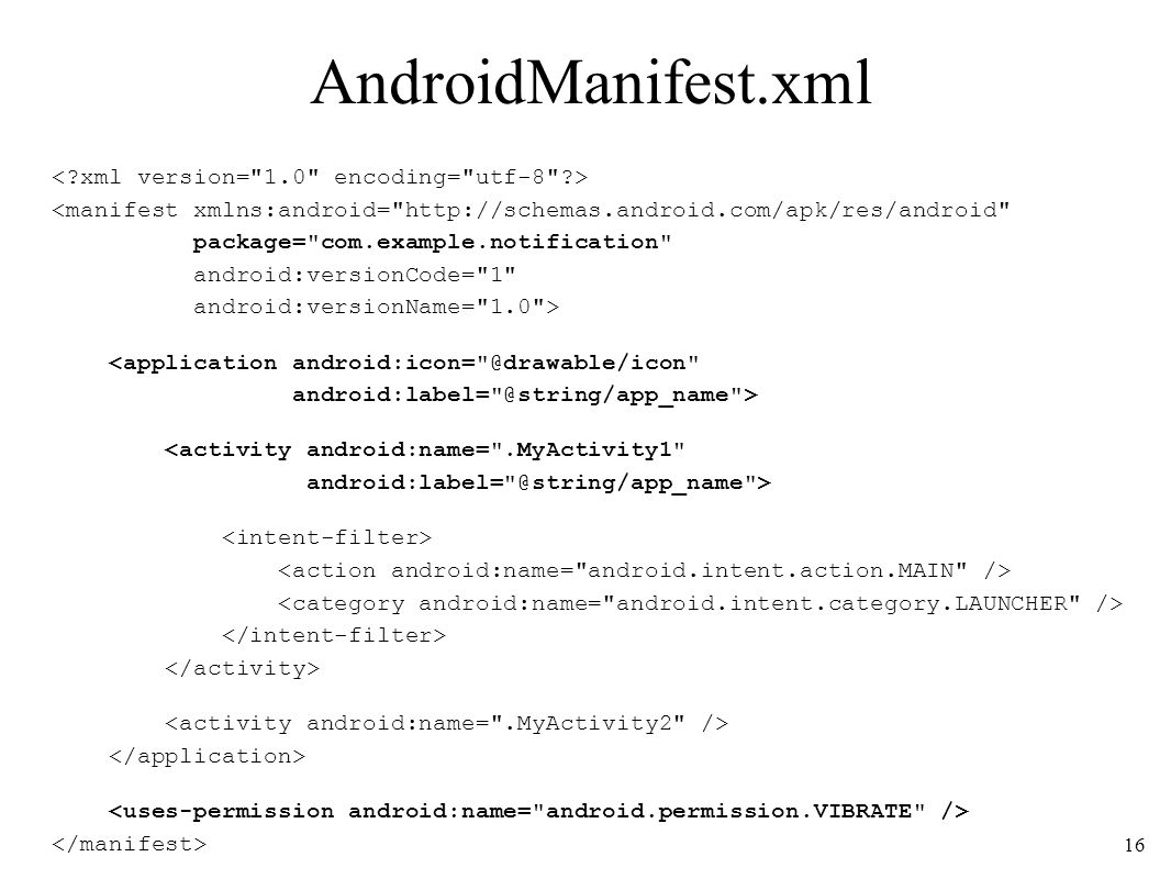 AndroidManifest.xml < xml version= 1.0 encoding= utf-8 >