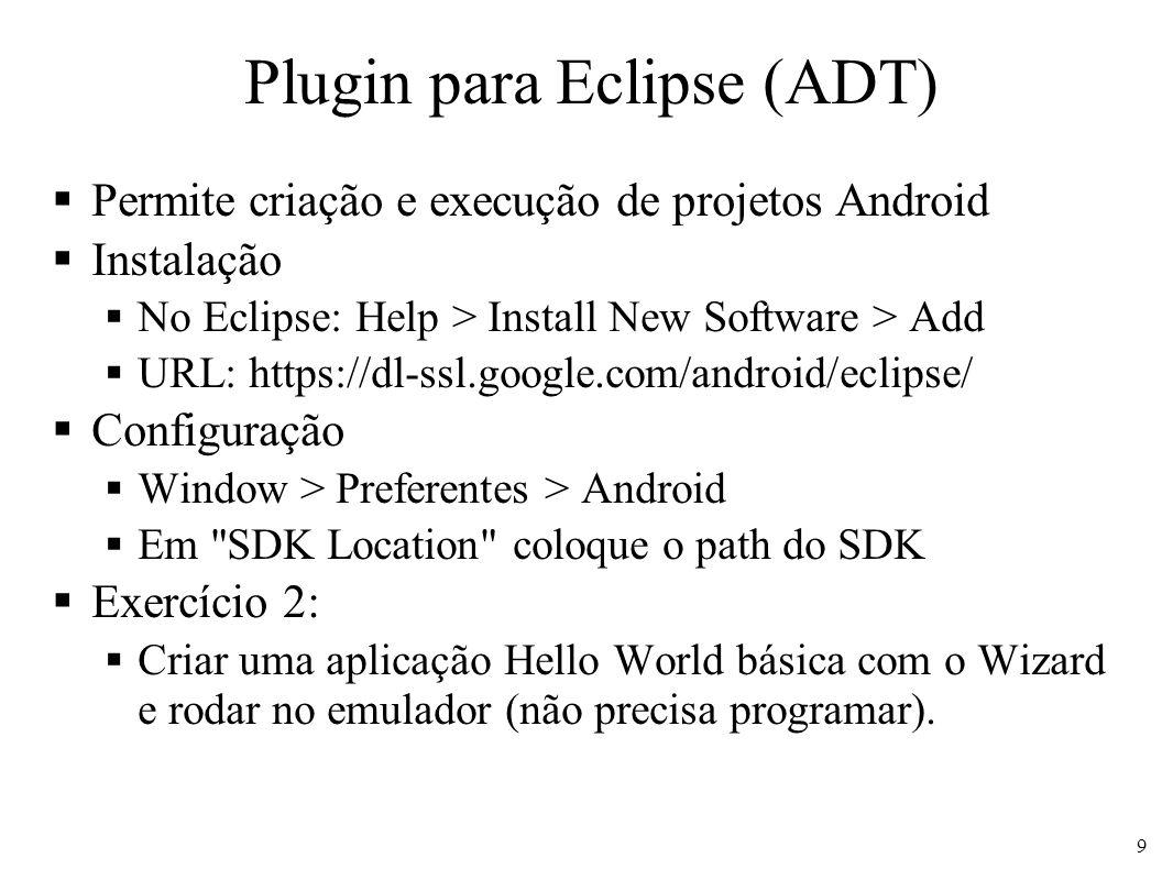 Plugin para Eclipse (ADT)