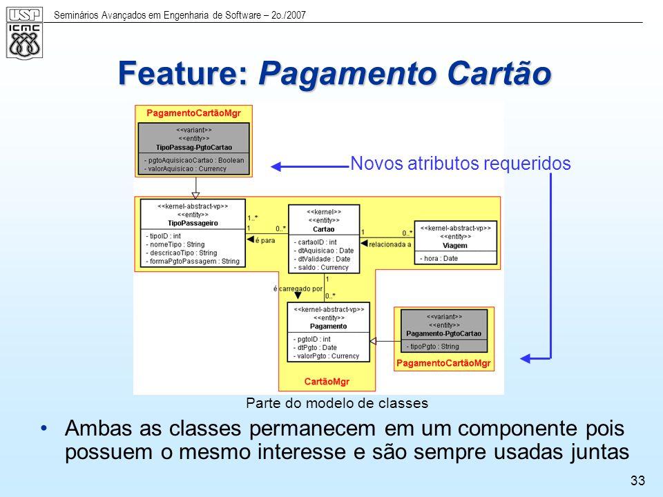 Feature: Pagamento Cartão