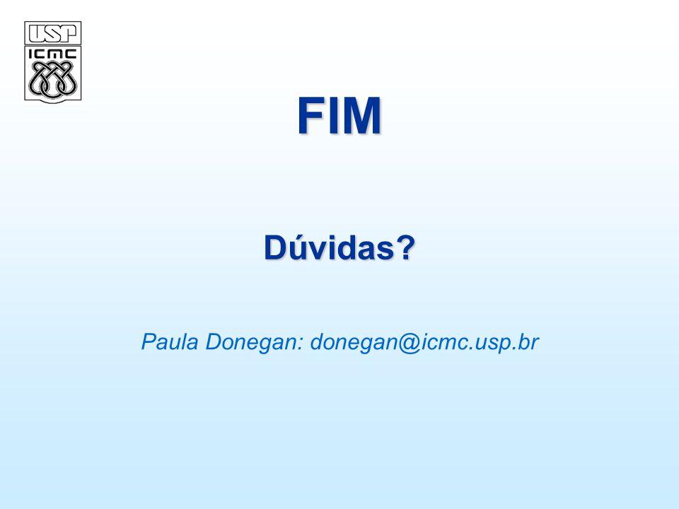 Paula Donegan: donegan@icmc.usp.br