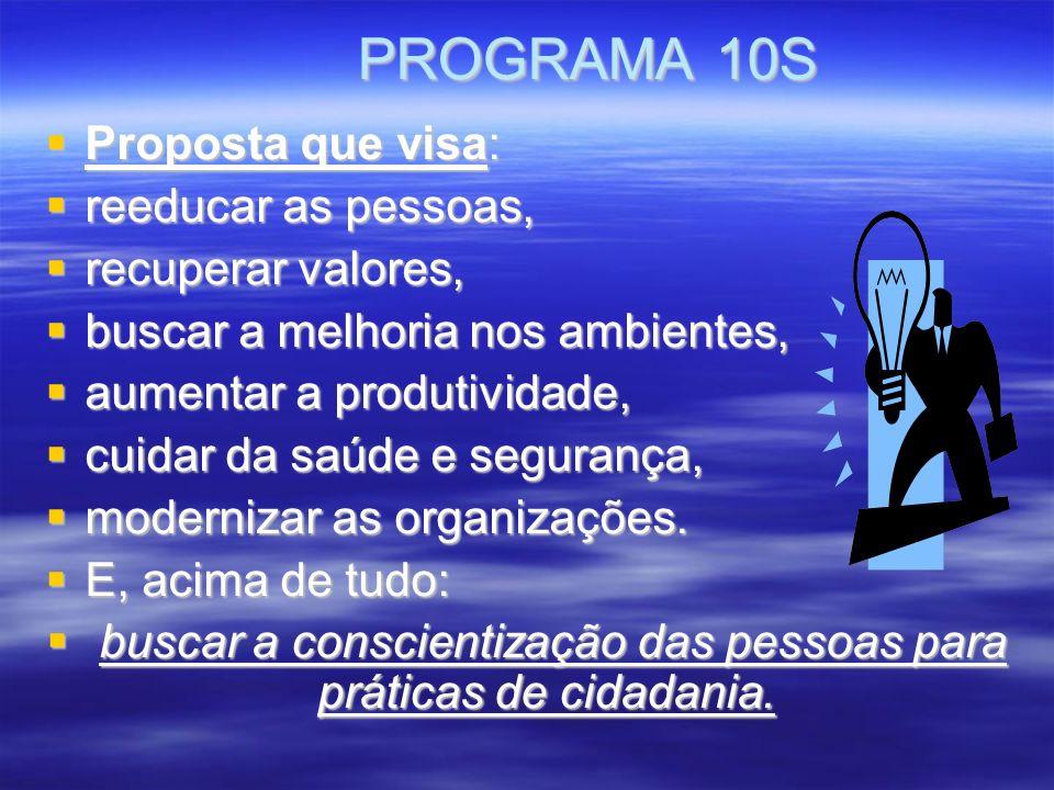 buscar a conscientização das pessoas para práticas de cidadania.