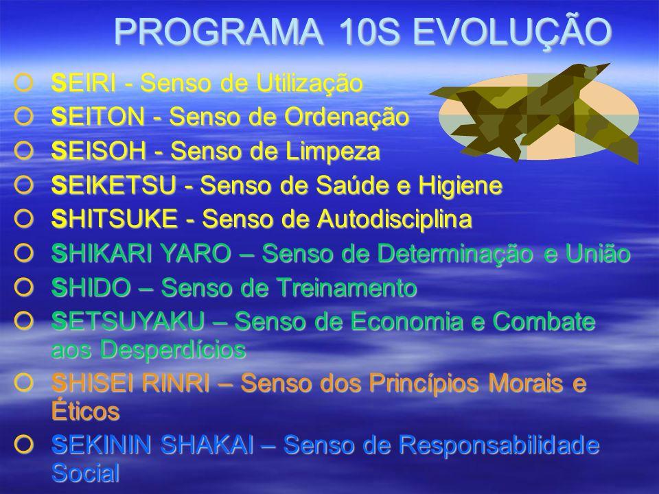 PROGRAMA 10S EVOLUÇÃO SEIRI - Senso de Utilização
