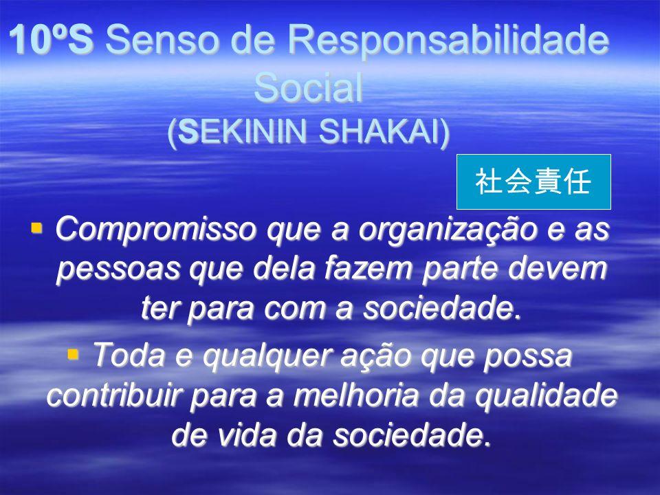 10ºS Senso de Responsabilidade Social (SEKININ SHAKAI)