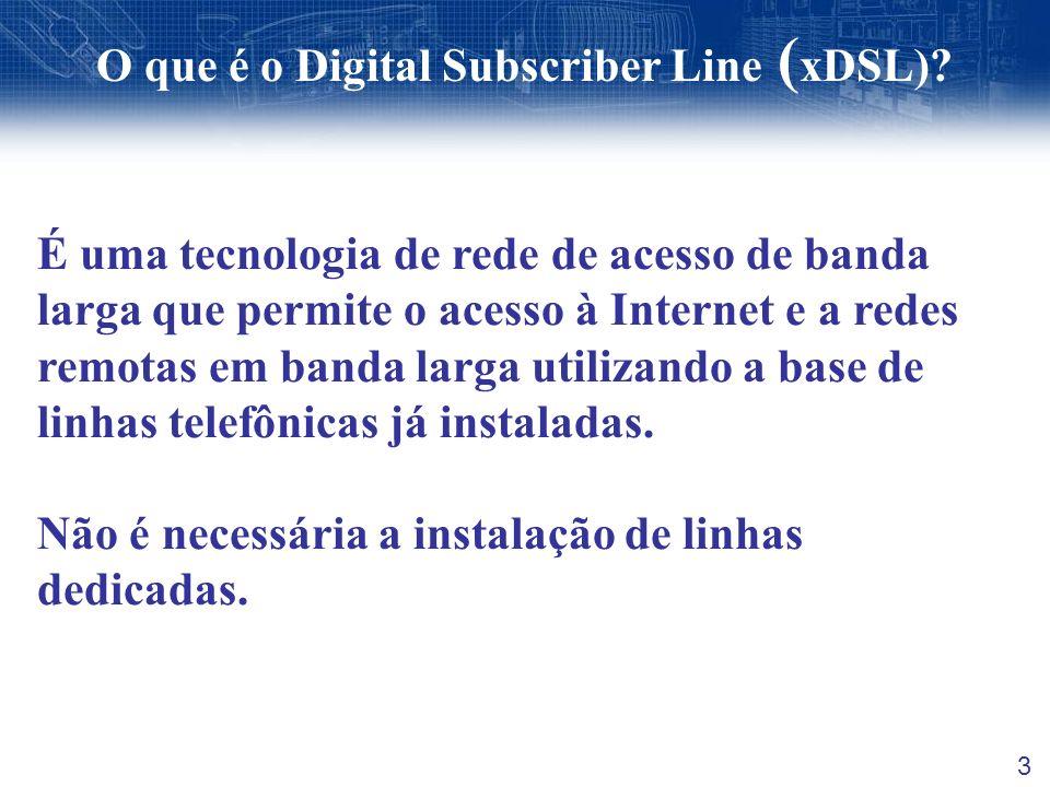 O que é o Digital Subscriber Line (xDSL)