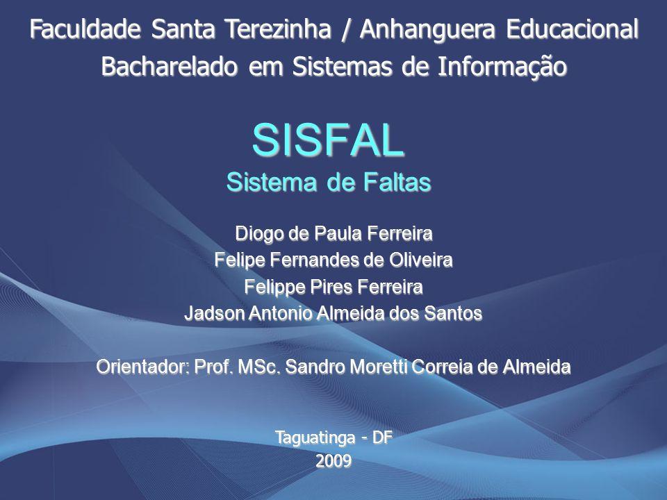 SISFAL Sistema de Faltas
