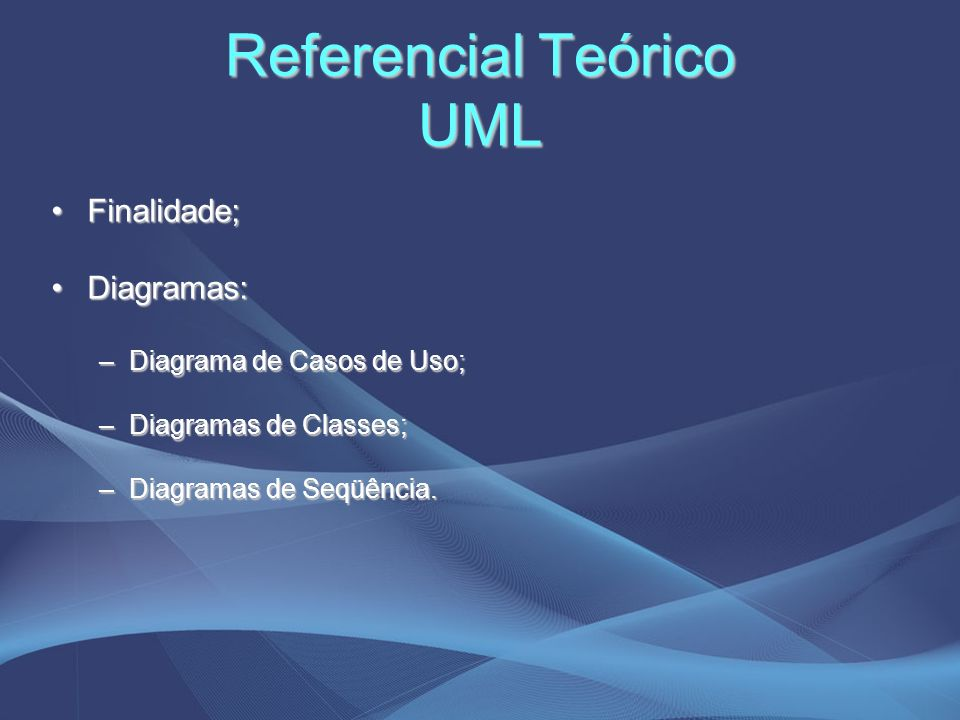 Referencial Teórico UML