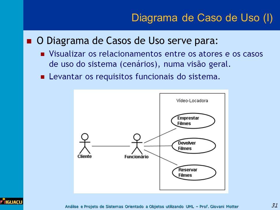 Diagrama de Caso de Uso (I)