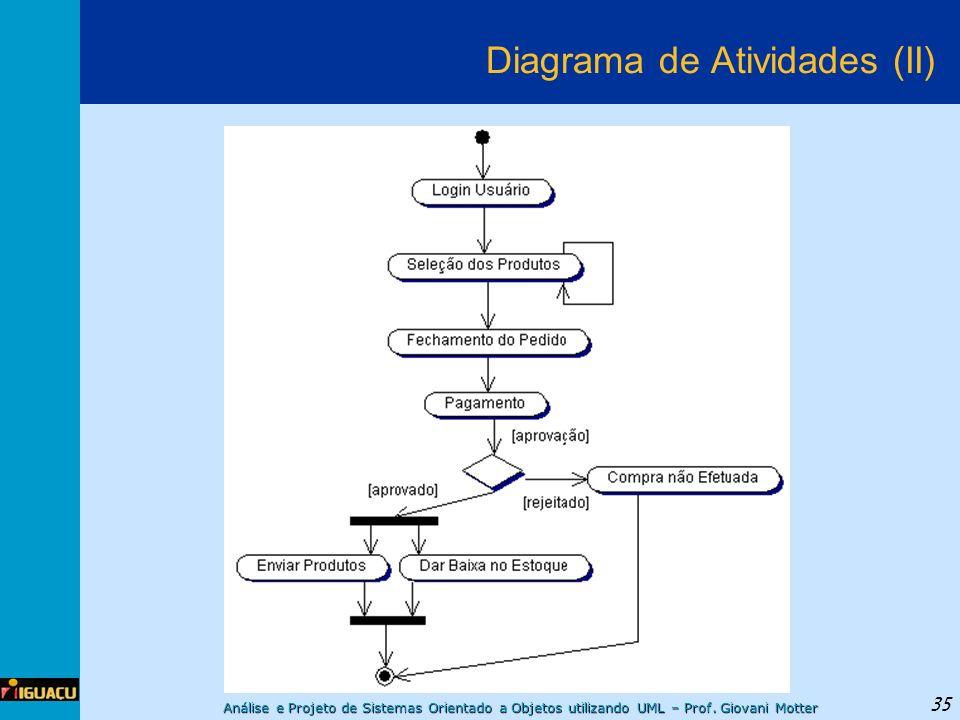 Diagrama de Atividades (II)
