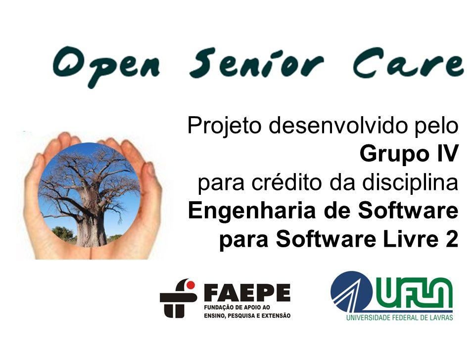 Projeto desenvolvido pelo Grupo IV para crédito da disciplina Engenharia de Software para Software Livre 2
