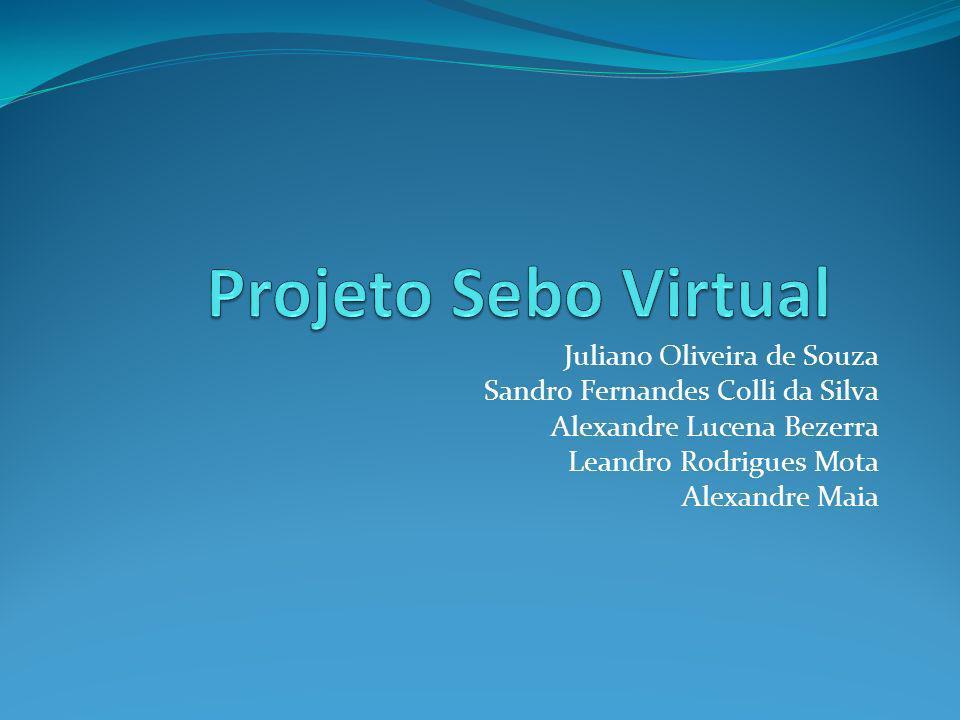 Projeto Sebo Virtual Juliano Oliveira de Souza