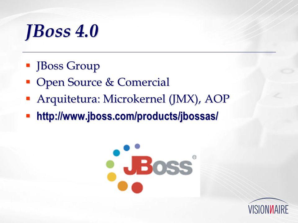 JBoss 4.0 JBoss Group Open Source & Comercial