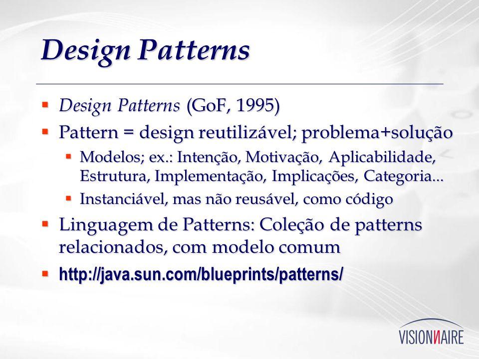 Design Patterns Design Patterns (GoF, 1995)