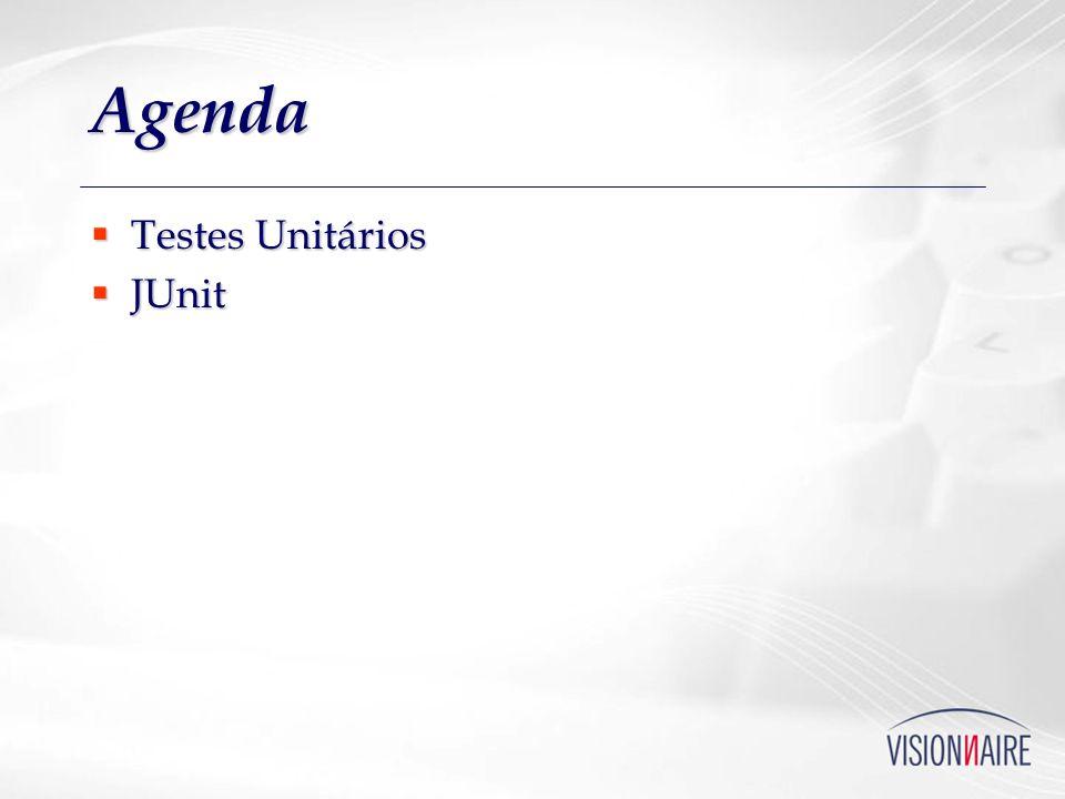 Agenda Testes Unitários JUnit