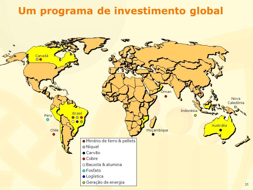 Um programa de investimento global