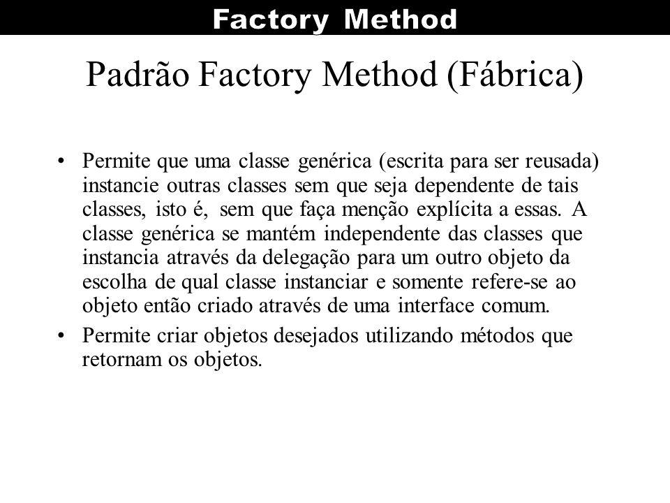 Padrão Factory Method (Fábrica)