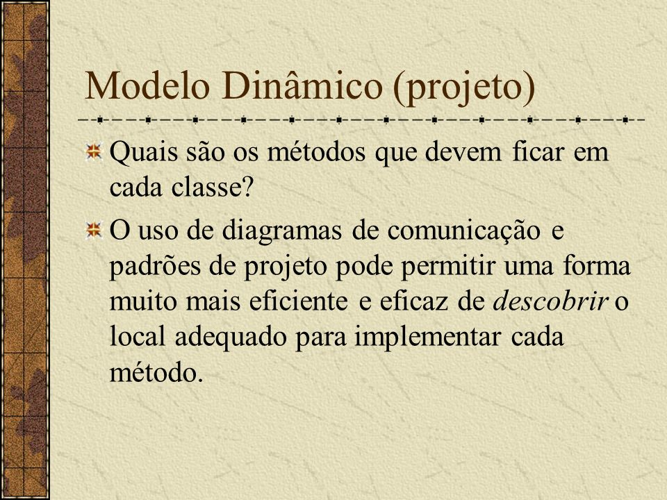 Modelo Dinâmico (projeto)
