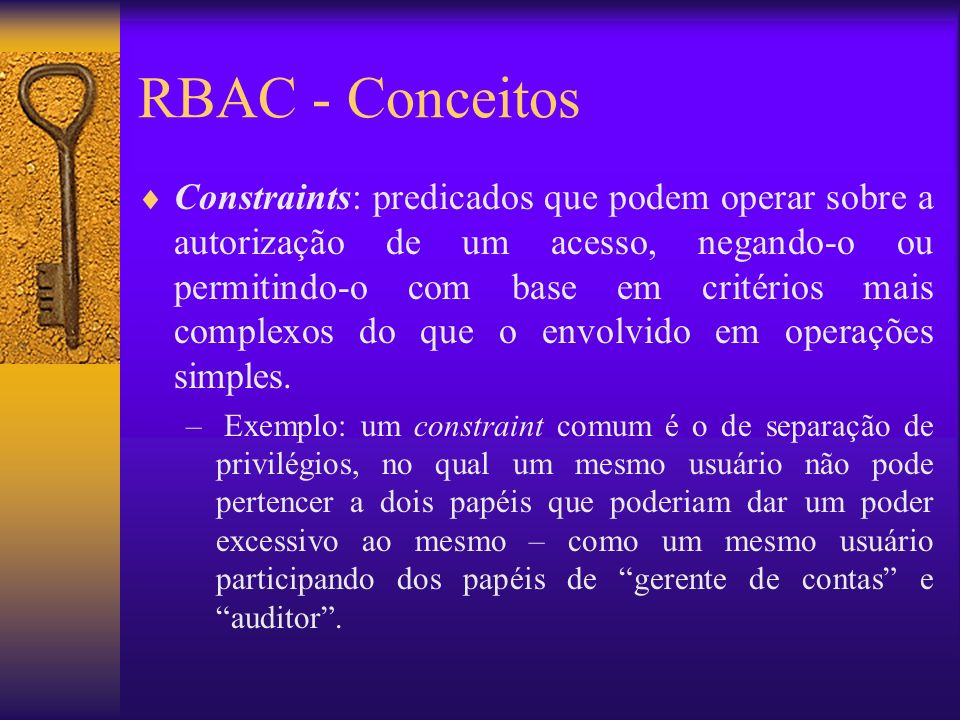 RBAC - Conceitos
