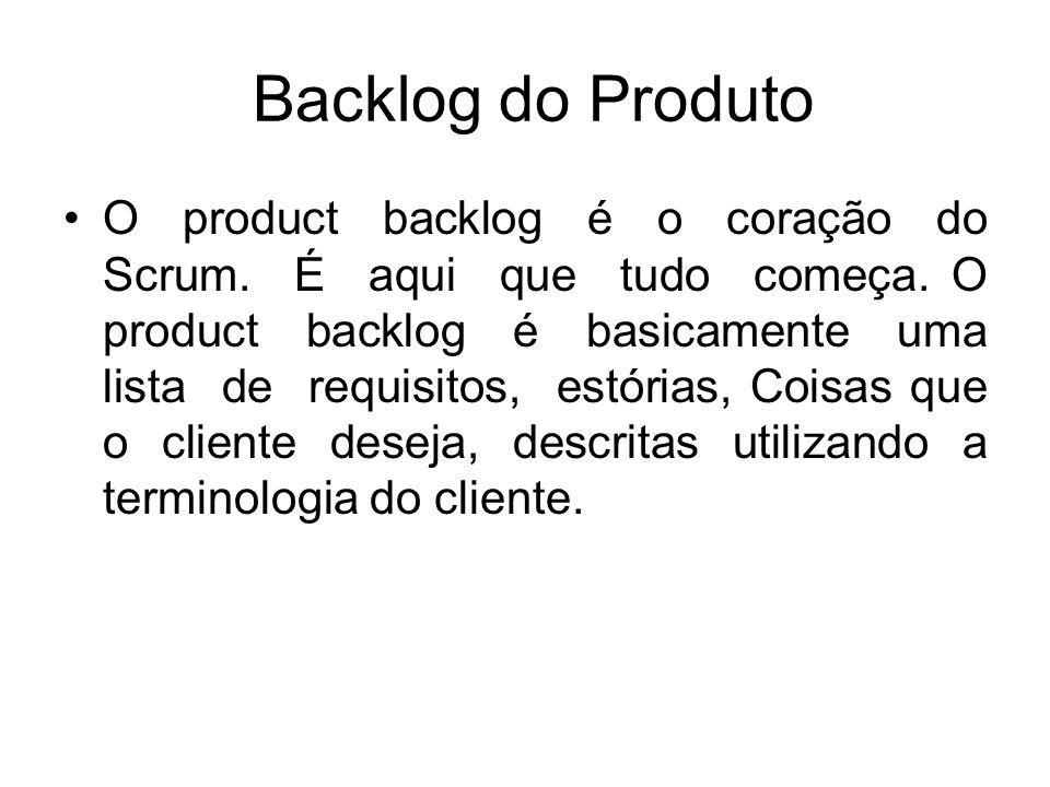Backlog do Produto