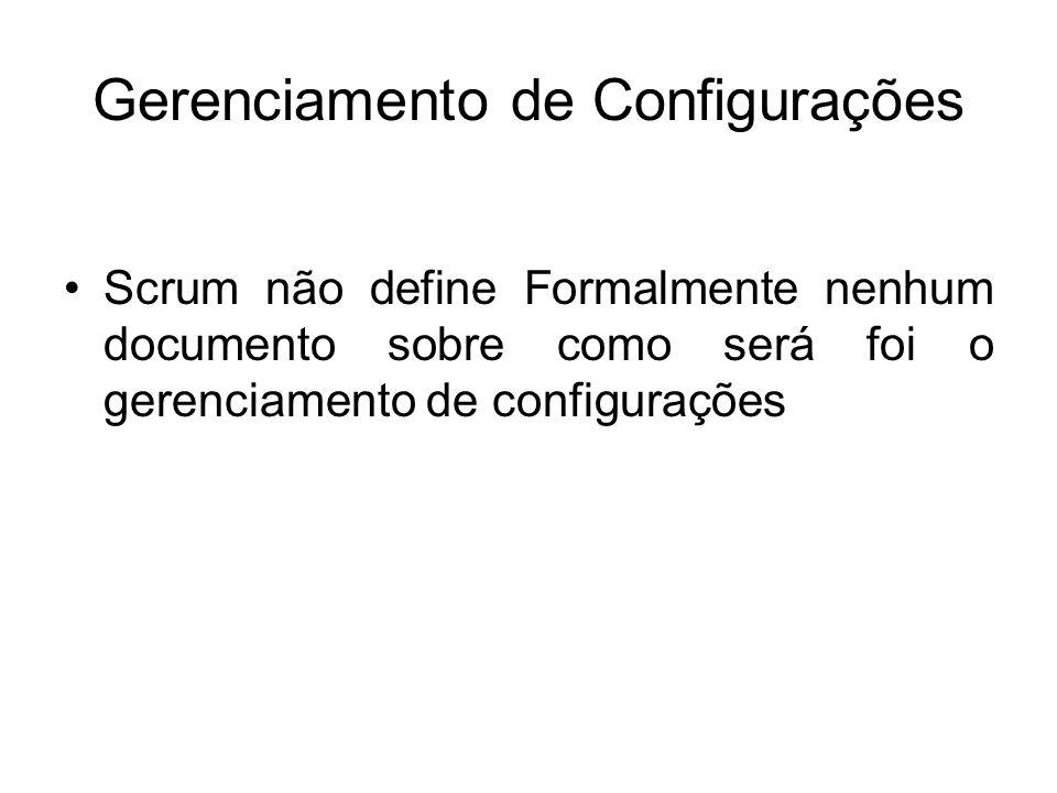 Gerenciamento de Configurações