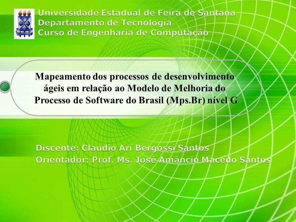 Mapeamento dos processos de desenvolvimento