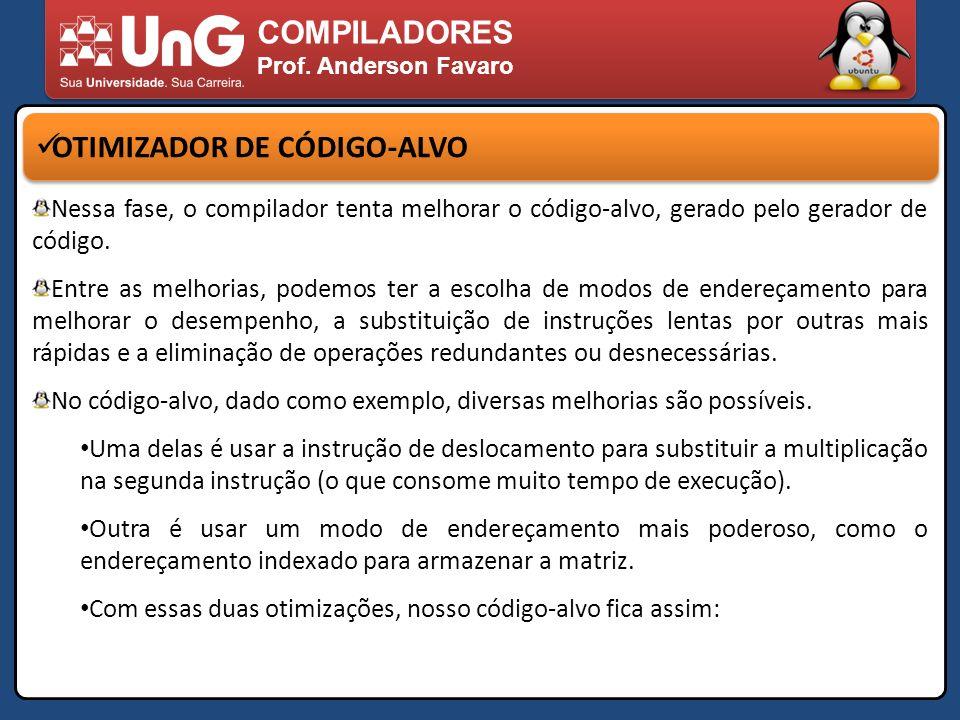 OTIMIZADOR DE CÓDIGO-ALVO