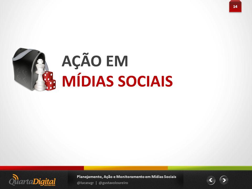 14AÇÃO EM.MÍDIAS SOCIAIS. Planejamento, Ação e Monitoramento em Mídias Sociais.