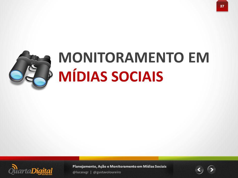 MONITORAMENTO EM MÍDIAS SOCIAIS 37