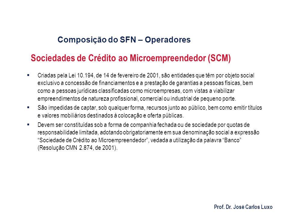 Sociedades de Crédito ao Microempreendedor (SCM)