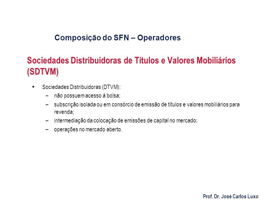 Sociedades Distribuidoras de Títulos e Valores Mobiliários (SDTVM)