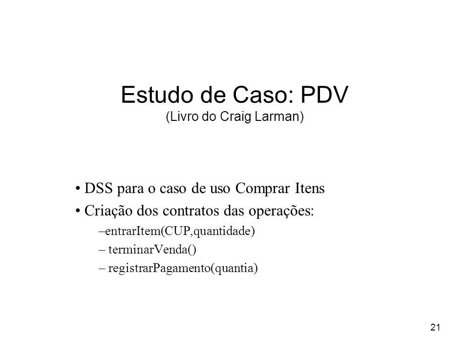 Estudo de Caso: PDV (Livro do Craig Larman)