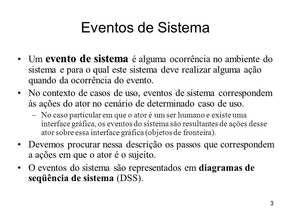 Eventos de Sistema