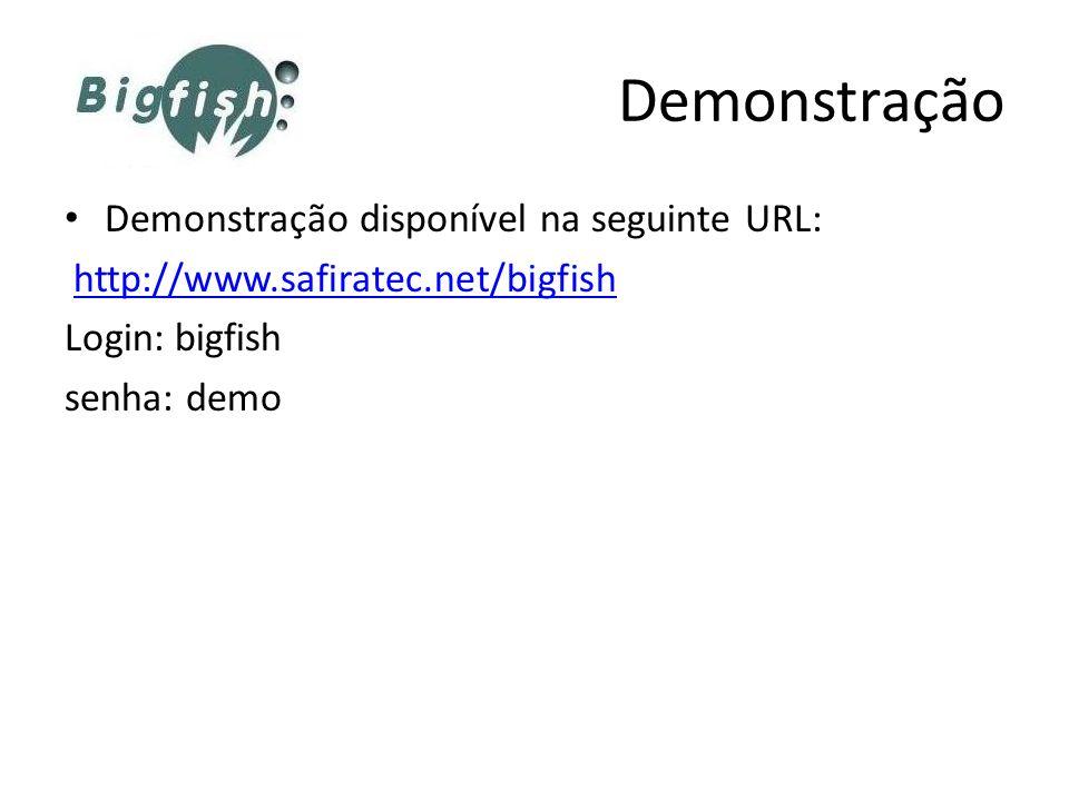 Demonstração Demonstração disponível na seguinte URL: