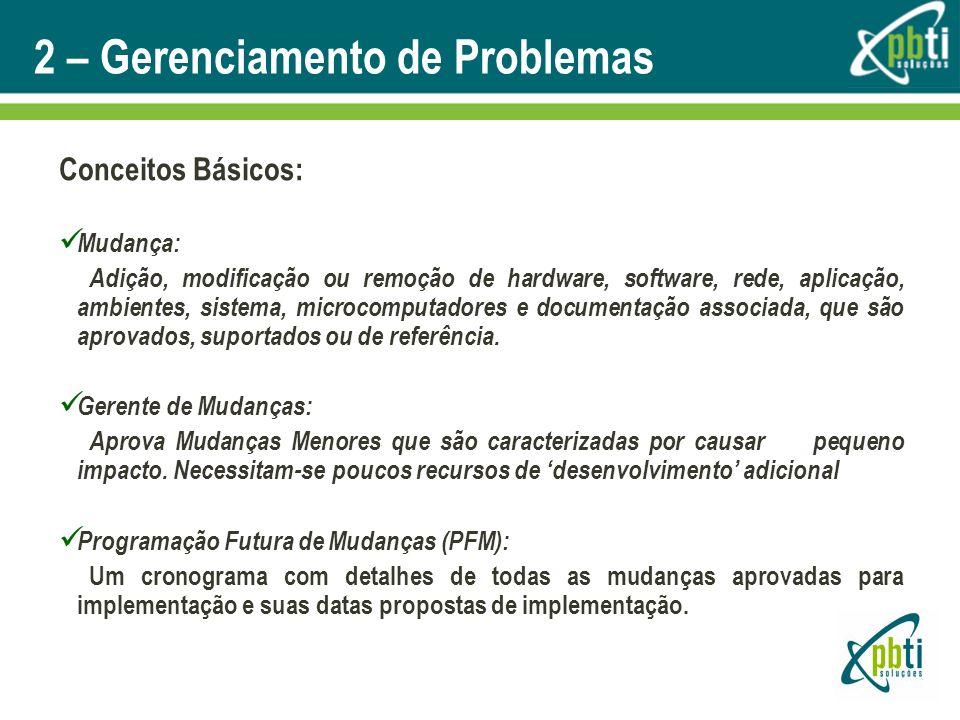 2 – Gerenciamento de Problemas