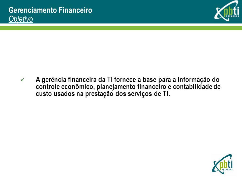 Gerenciamento Financeiro Objetivo