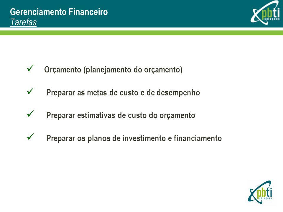 Gerenciamento Financeiro Tarefas