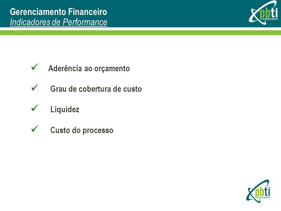Gerenciamento Financeiro Indicadores de Performance