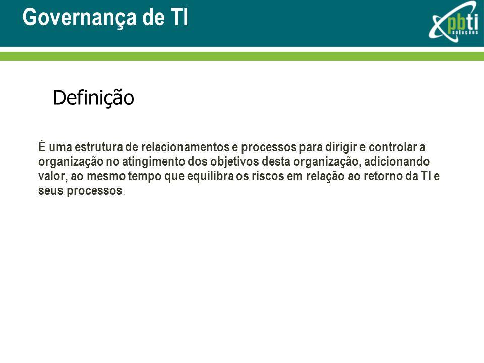Governança de TI Definição