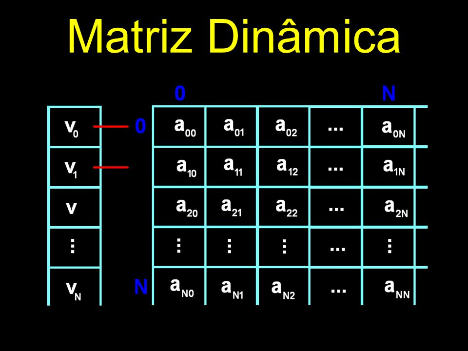 Matriz Dinâmica