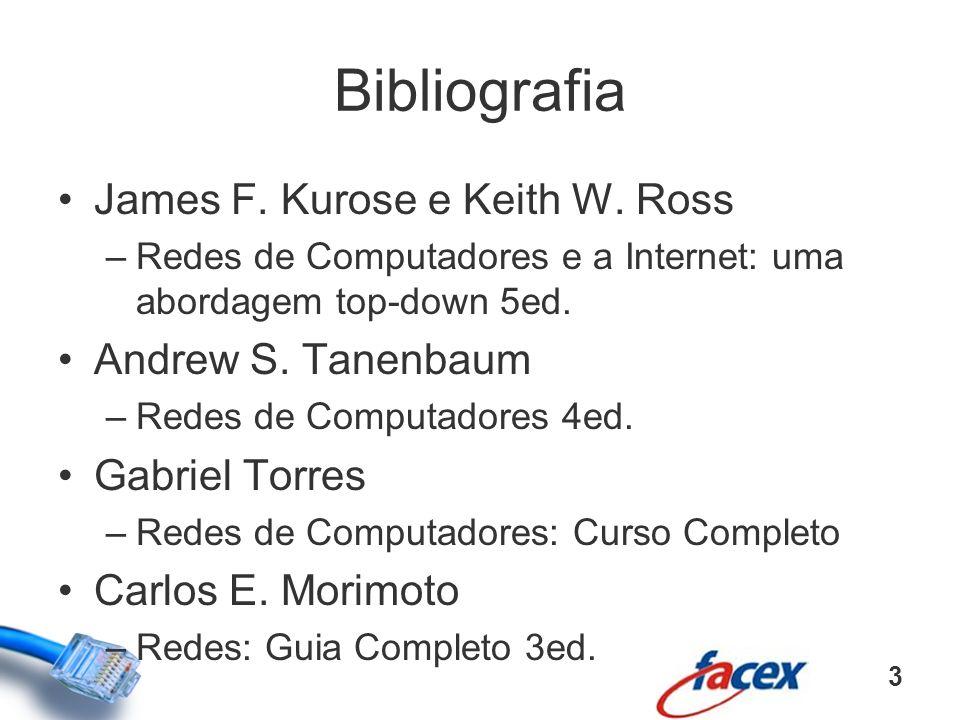Bibliografia James F. Kurose e Keith W. Ross Andrew S. Tanenbaum