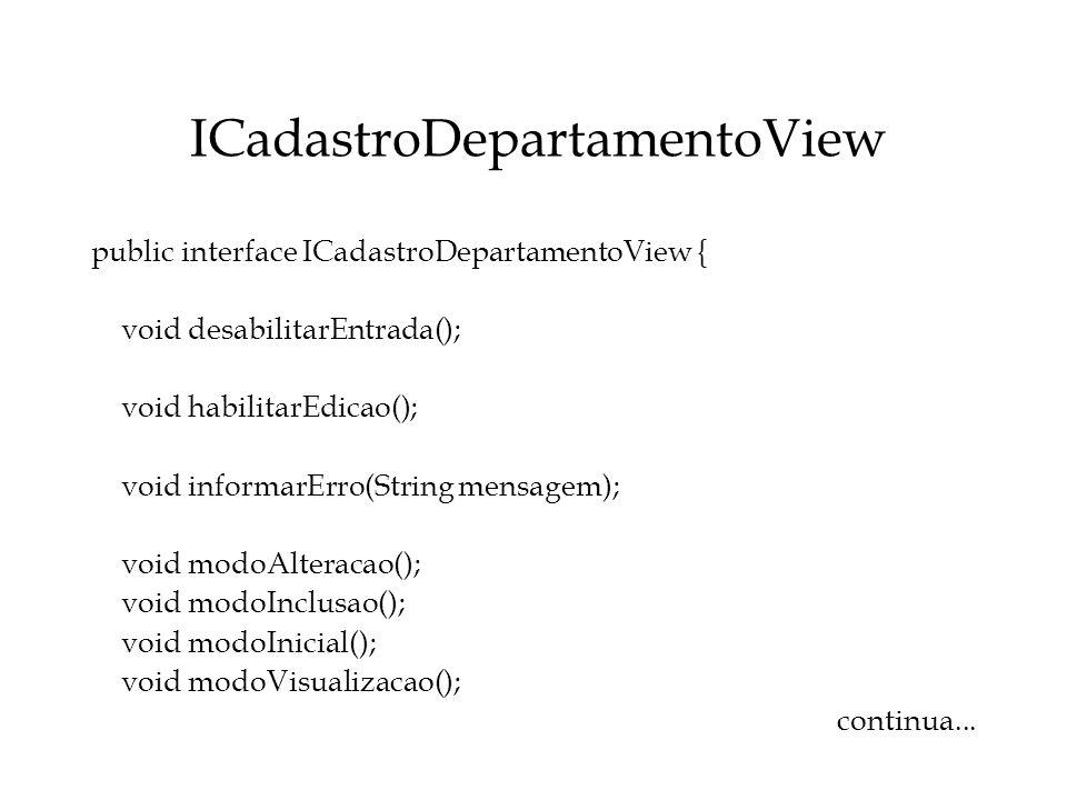 ICadastroDepartamentoView
