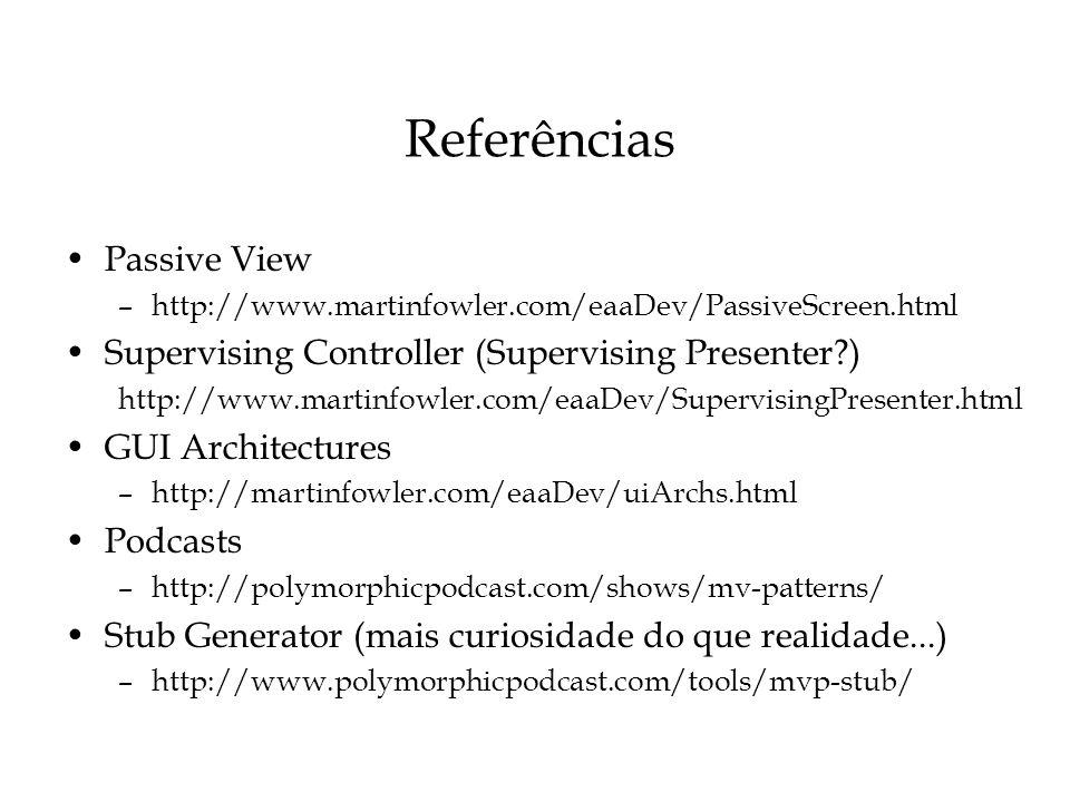 Referências Passive View