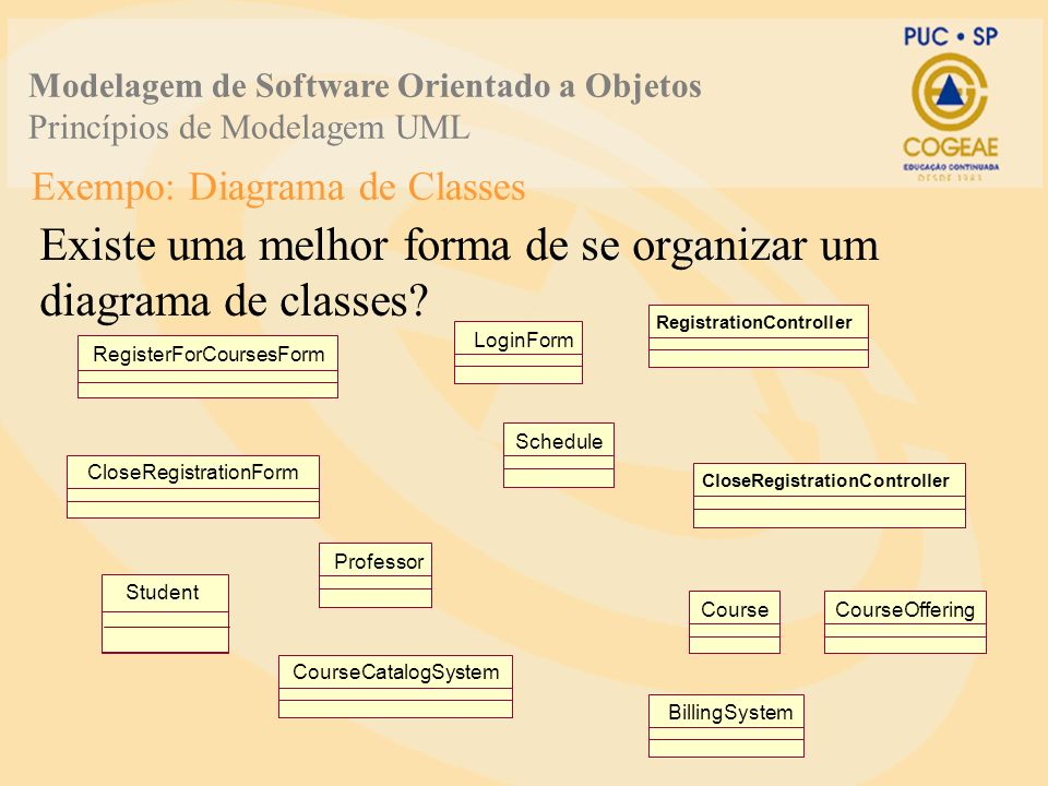 Exempo: Diagrama de Classes