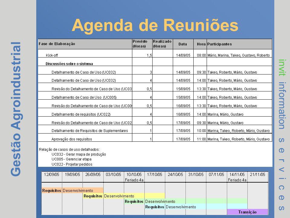 Agenda de Reuniões