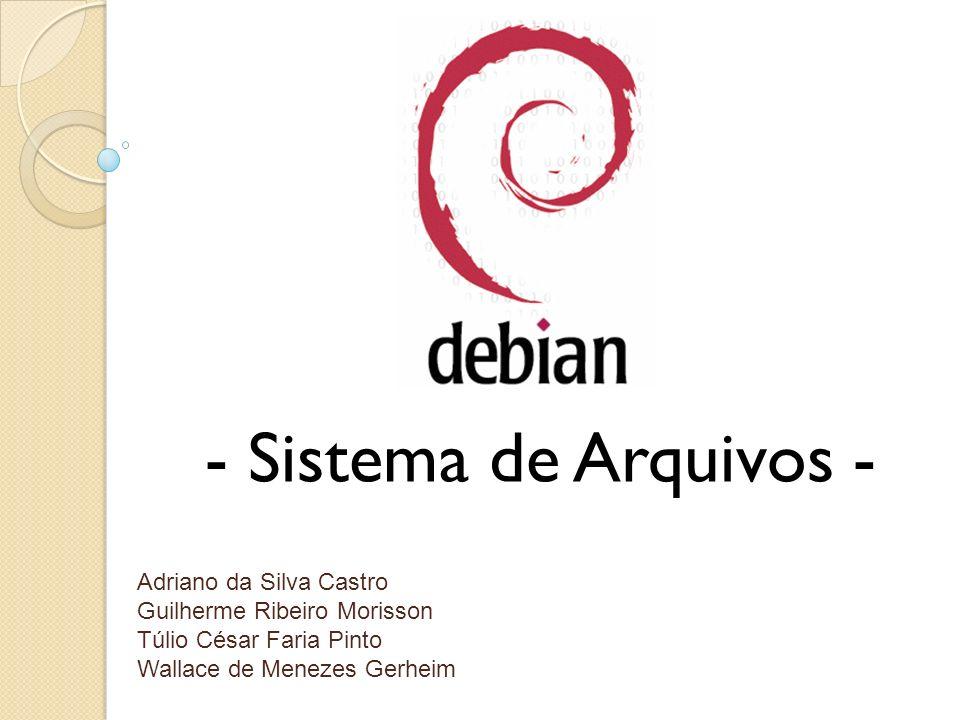 - Sistema de Arquivos - Adriano da Silva Castro