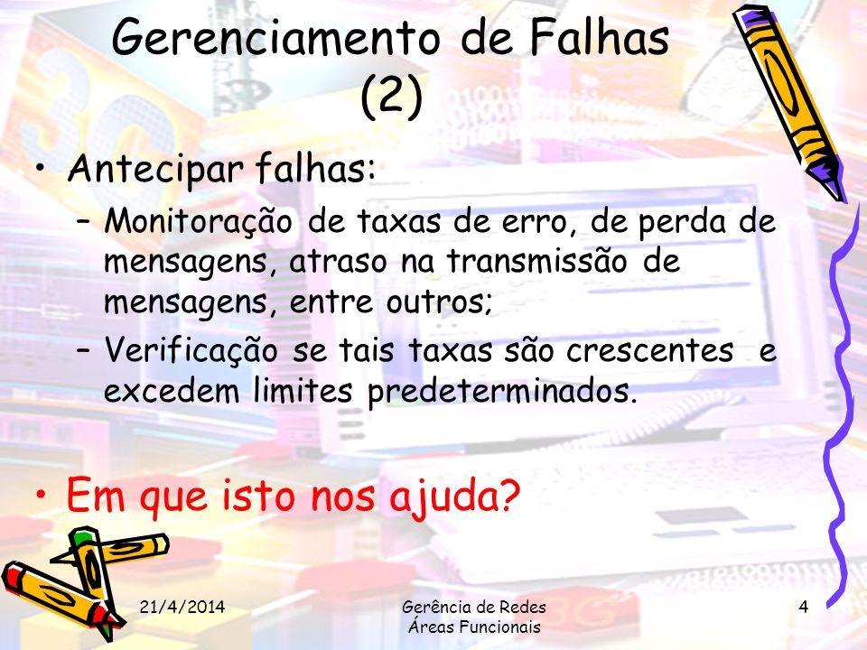 Gerenciamento de Falhas (2)