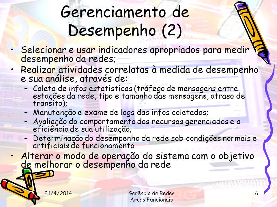 Gerenciamento de Desempenho (2)