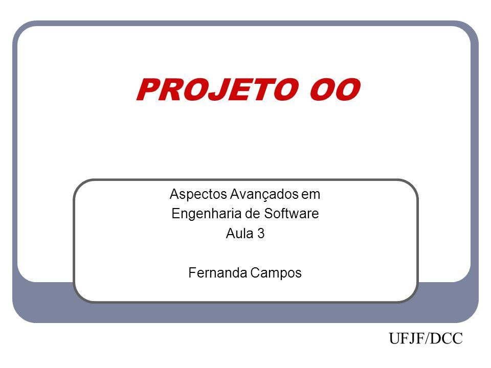 Aspectos Avançados em Engenharia de Software Aula 3 Fernanda Campos