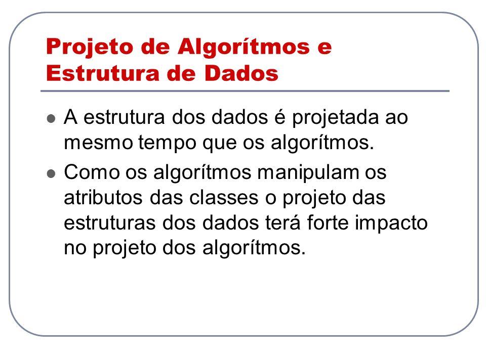 Projeto de Algorítmos e Estrutura de Dados