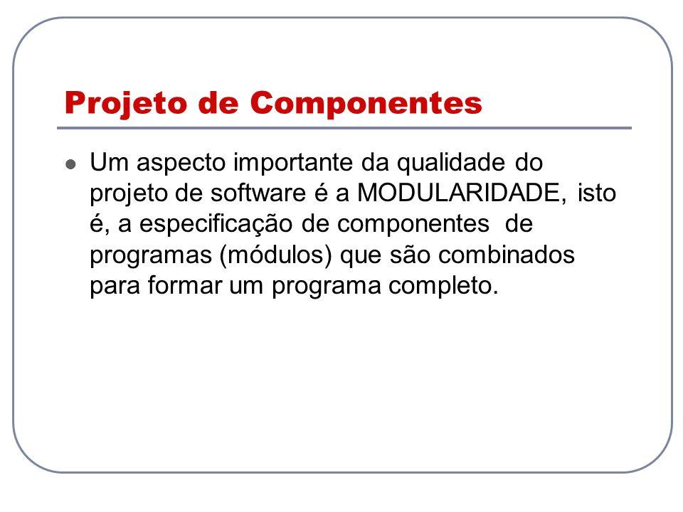 Projeto de Componentes