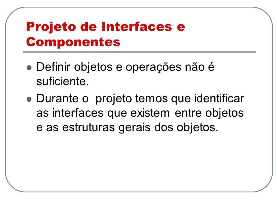 Projeto de Interfaces e Componentes